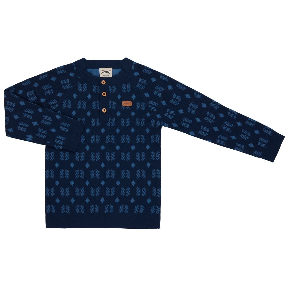 Фото: Свитер Voksi Double Knit New Nordic blue