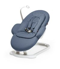 Шезлонг Stokke (Стокке) STEPS BOUNCER Blue 350103