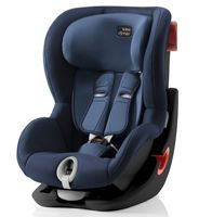 Автокресло 1 Britax Roemer KING II (Бритакс Рёмер Кинг два) Black Series Moonlight Blue